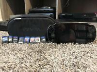 Sony PS Vita Bundle [PCH-1101] ✅8 Games ✅Mem Card ✅Charger ✅Superb Condtion ✅Bag