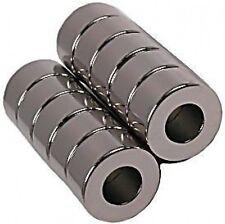 "1/2"" x 1/4"" x 1/4"" Rings - Neodymium Rare Earth Magnet, Grade N48"