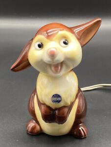 Selten! Alter Porzellan Rauchverzehrer Hase Klopfer Disney Hummel #4000