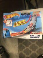 Hot Wheels Hill Climb Champion Race Track Builder Action System Mattel NIP