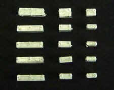1/72nd WWII British Ammo Boxes (3 types, 5 each) Wee Friends WBM72016