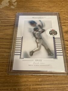 Fleer 2002 Derek Jeter Materialistic