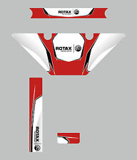Arte Grand Prix Micro Max Estilo Europeo Rotax Radiador Kit De Etiquetas-Karting