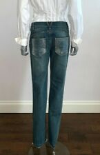 Versace jeans - size 29 - embellished (back pockets and a front coins pocket )
