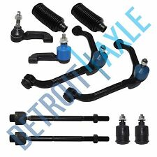 New 10pc Front Upper Control Arms & Suspension Kit Set for 02-04 Jeep Liberty