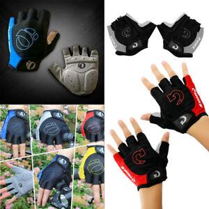 Cycling Gloves Bike Glove Men's Women's Bicycle Full Finger Gel Pad Anti-slip