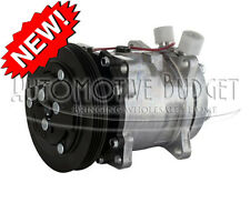 A/C Compressor w/Clutch for Ford/New Holland L223 & Case/IH TR320 TV380 -NEW