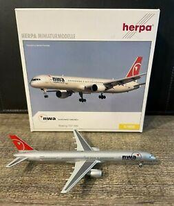 Northwest Airlines Boeing 757-300 Herpa Wings 1:400 Diecast Model Airplane