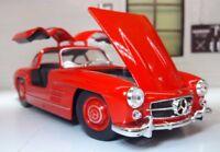 G LGB 1:24 Maßstab 1954 Mercedes 300SL sehr detaillierte Welly Druckguss