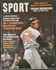 Sport Magazine - FEB 1967 - FRANK ROBINSON Man of the Year  Babe Ruth Story  M16