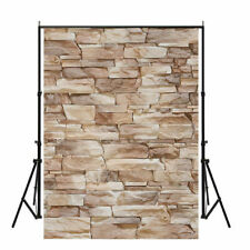 5x7ft Vintage Stone Brick Wall Photography Backdrops Coffee Shop Bar Wall Decor