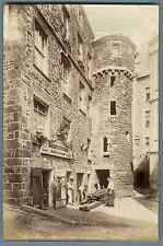 ND, France, Saint Malo, Maison d'Anne de Bretagne  Vintage albumen print.