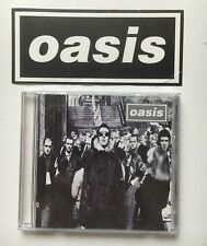 OASIS - DO YA KNOW WHAT I MEAN RARE JAPANESE CD + PROMO STICKER