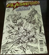 2011 FLASHPOINT #4 season 3 Flash MOVIE!!! 1st print Kubert B&W Sketch variant
