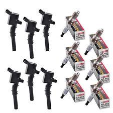 Set of 6 Aftermarket Ignition Coil AF029 (R-DG508) & Motrocraft Spark Plug SP493