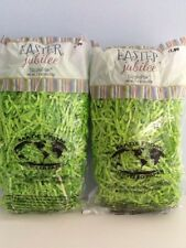 Paper Crinkle Shred Light Green 2 Packages 3 Ounces New