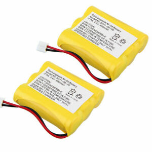 2 pack 3AA 3.6V 800mAh Cordless Home Phone Batteries