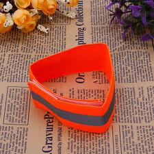 Flashing Safety Reflective Belt Strap Arm Band Armband for Cycling Running 2018 Orange