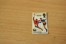 ENGLAND WORLD CUP WINNERS STAMP 1966 4d STAMP - UNUSED
