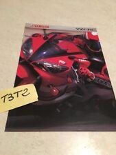 Yamaha YZF-R1 YZF 1000 R1 moto prospectus brochure publicité prospekt dépliant