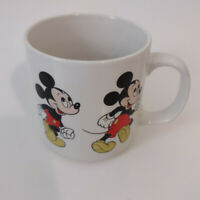 Vintage Mickey Mouse Mug Disney Mickey In Action Made in Korea Coffee Tea