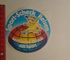 Aufkleber/Sticker: Sport Scheck Reisen verbindet Urlaub mit Sport (06121650)