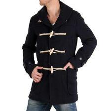 Cappotti e giacche da uomo parke blu lana