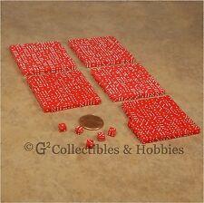 NEW 5mm 500 Red Mini Dice Set RPG Game Miniature Tiny 3/16 inch D6 Bulk Koplow