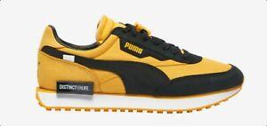 PUMA X  DISTINCT LIFE FUTURE RIDER 3821850-1 Yellow/Black Mens Shoes 8-11