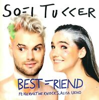 FRENCH CDr PROMO SOFI TUKKER BEST FRIEND CARDBOARD SLEEVE ULTRA RARE COLLECTOR