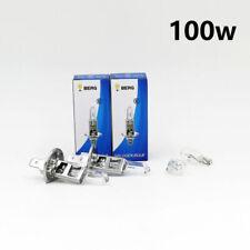 H1 100w CLEAR HALOGEN (499) HIGH BEAM UPGRADE HEADLIGHT BULBS 12v + SIDELIGHTS X