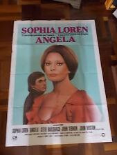 Manifesto ANGELA 1978 Sophia Loren, John Huston