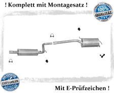 Auspuffanlage für VW Caddy III 2.0 SDI 51KW Auspuff Montagesatz