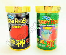 2x100g XO OCEAN FREE SUPER RED SYN HEAD HUMPY Flowerhorn Cichlids Fish Food M L