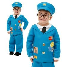 Toddlers Kids Postman Pat Costume Book Week Day Boys Girls Fancy Dress Outfit
