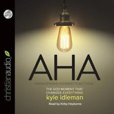 Aha : The God Moment That Changes Everything by Kyle Idleman (2014, CD,...