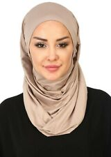 BO-33 Fertig Kopftuch Praktisch Hijab Bone Türban Esarp Sal Tesettür Turban
