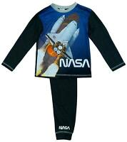 Boys Official NASA Space Shuttle Moon Rocket Pyjamas 5 to 12 Years