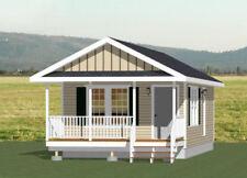 16x30 House -- 1 Bedroom  -- PDF Floor Plan -- 480 sq ft -- Model 4C