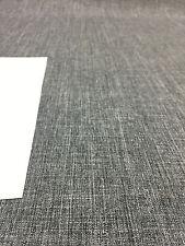 Milo Ash Dark gray Denim look Drapery upholstery Multipurpose Fabric by the yard
