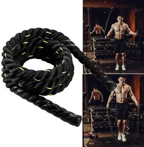 Heavy Jump Battle Ropes Total Body Power Training Improve  Building Muscles