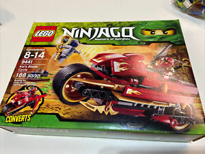 LEGO Ninjago Kai's Blade Cycle 9441 100% Complete in Box w Instructions -Retired