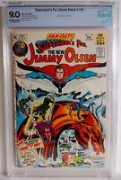Superman's Pal Jimmy Olsen #144 CBCS 9.0 1971 Jack Kirby Neal Adams Newsboy Legi