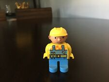 LEGO Duplo Bob The Builder Figure Toy 2.5""