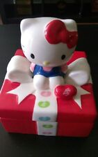 JELLY BELLY HELLO KITTY CERAMIC CANDY DISH NWB