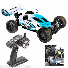 T2M Pirate Nitron 3,0ccm Motor 4 WD 1-10 Verbrenner Buggy 2,4 GHz RTR blau T4926
