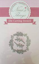 Nini's Things Branches & Wreath cutting stencil set die dies Elegant scrapbook