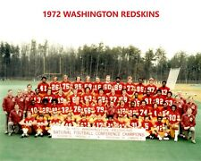 1972 WASHINGTON REDSKINS 8X10 TEAM PHOTO FOOTBALL NFL PICTURE CHAMPS
