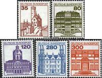 BRD (BR.Deutschland) 1139A I R-1143A I R mit Zählnummer (kompl.Ausg.) postfrisch