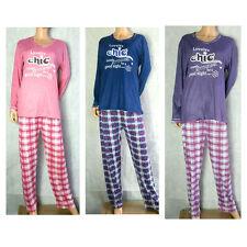 Striped Full Length Long Sleeve Women's Lingerie & Nightwear